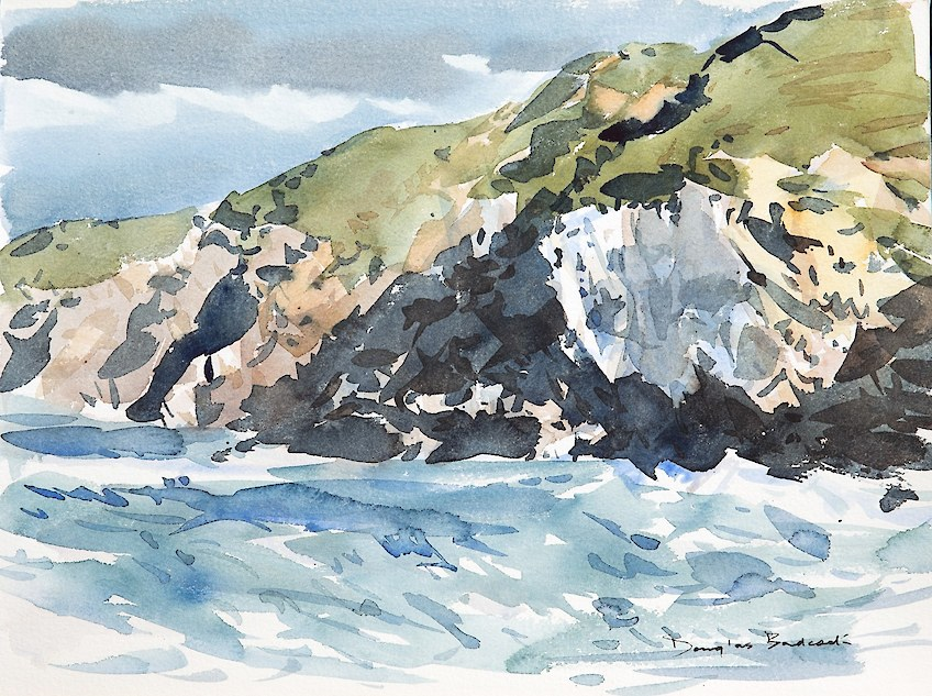 Seascape - watercolour