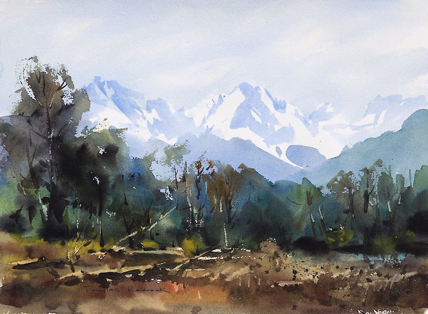 Mount Cook Watercolour